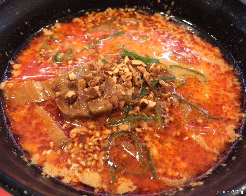 #八角香る角煮入り担々麺 #日本橋小洞天監修 #かっぱ寿司 風味良くおいしい