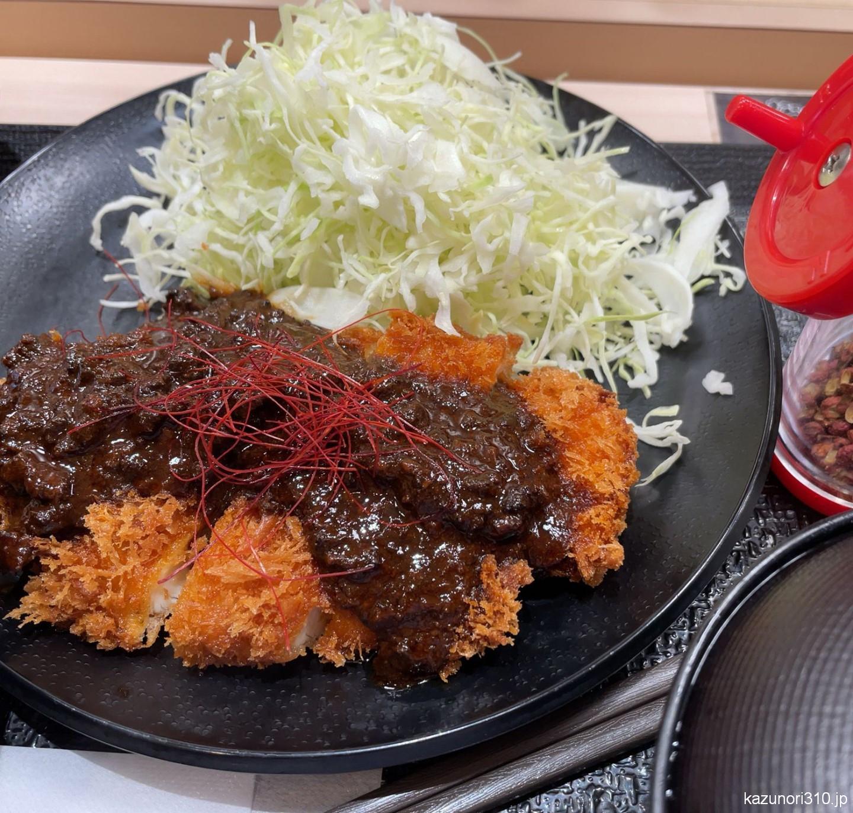 #麻婆ささみかつ定食 #松のや 大人の味